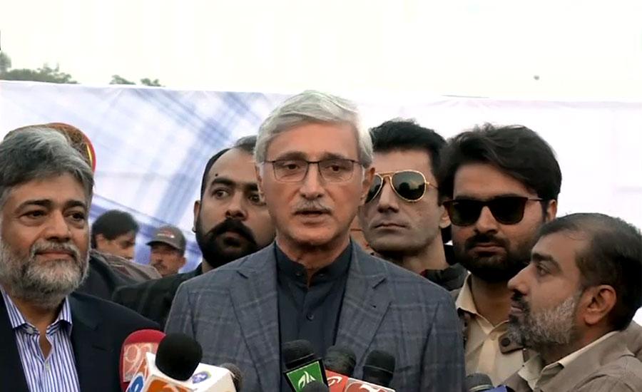 عمران خان احتساب سے پیچھے نہیں ہٹیں گے، جہانگیرترین