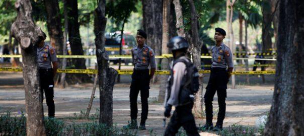 جکارتہ  صدارتی محل  دو فوجی اہلکار زخمی  92 نیوز انڈونیشیا  دارالحکومت 