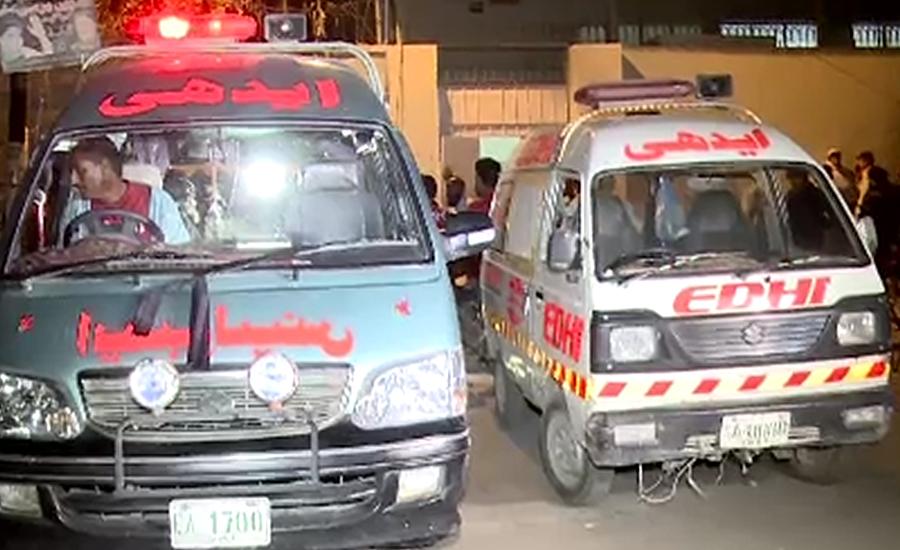 بس کی موٹر سائیکل کو ٹکر ، دوخواتین سمیت 3افراد جاں بحق