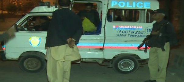 کراچی  مختلف واقعات  دو افراد جاں بحق  92 نیوز