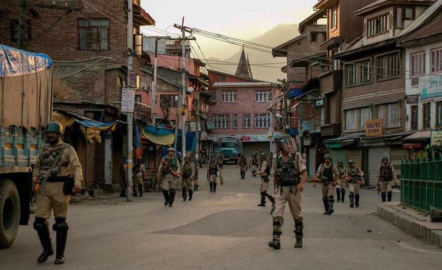 مقبوضہ کشمیر میں بھارتی فوج کی ریاستی دہشتگردی، 4 نوجوانوں شہید
