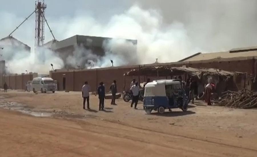 خرطوم میں فیکٹری کا گیس ٹینکر پھٹنے سے 20افراد ہلاک