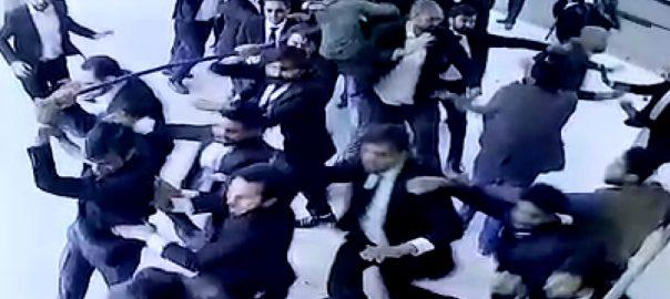 وکلاء  پی آئی سی  توڑ پھوڑ  92 نیوز  سی سی ٹی وی  لاہور  92 نیوز پنجاب کارڈیالوجی  پنجاب انسٹیٹیوٹ آف کارڈیالوجی 