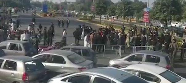 لاہور ، ڈاکٹروں ، وکلا ، تنازع، گرینڈ ہیلتھ الائنس ، احتجاج ، ختم ، اعلان