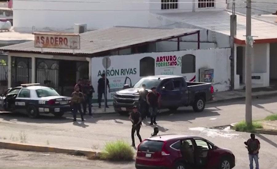 میکسیکو میں رواں ہفتے فائرنگ سے 20افراد ہلاک ہوئے