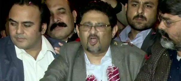 مسلم لیگ ن ، رہنما ، مفتاح اسماعیل ، رہائی ، کراچی