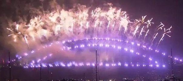 نیوزی لینڈ، آسٹریلیا، سال 2020 ، آغاز، ہاربر برج، آتشبازی، سڈنی، 92 نیوز