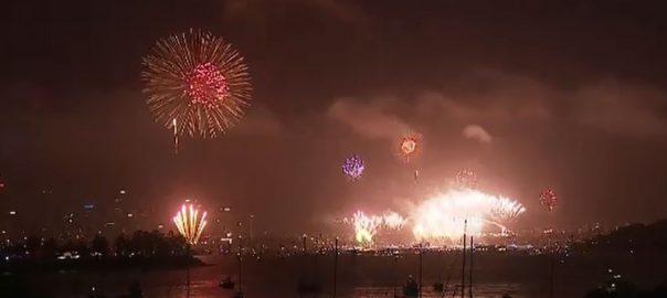نیوزی لینڈ، آسٹریلیا، چین ، نئے سال ، استقبال ، قابل دید