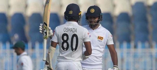 راولپنڈی ٹیسٹ  سری لنکا  ٹاس  92 نیوز مہمان ٹیم 