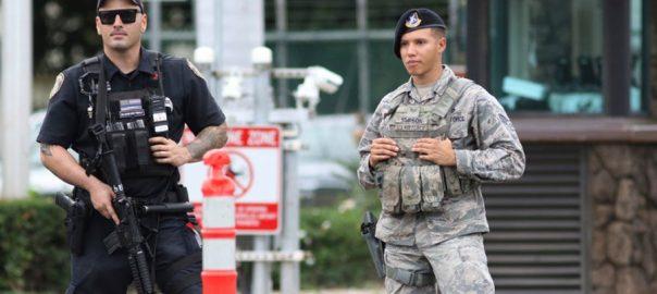 امریکی نیوی اہلکار  خودکشی ہوائی  92 نیوز ہوائی 