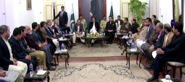 وزیراعظم عمران خان، دورہ کراچی، اہم ملاقاتوں، مصروف دن، 92 نیوز