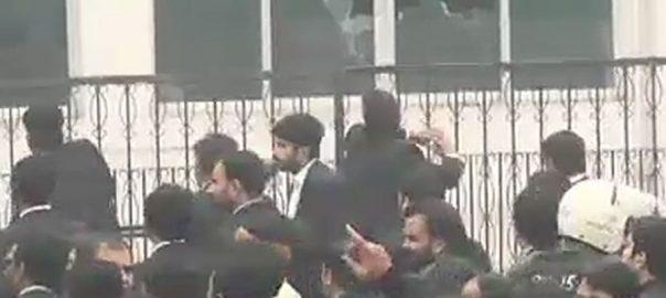 وکلا ، ساتھیوں ، گرفتاریوں ، پنجاب ، ہڑتال ، اعلان