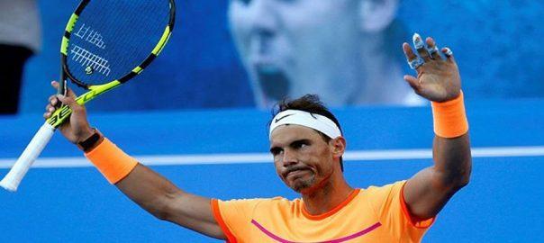 رافیل نڈال، پانچویں مرتبہ، مبادلا اوپن ٹینس ٹائٹل، جیت، ابوظہبی، 92 نیوز