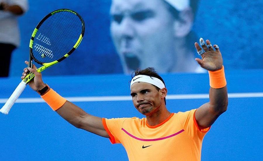 رافیل نڈال نے پانچویں مرتبہ مبادلا اوپن ٹینس ٹائٹل جیت لیا