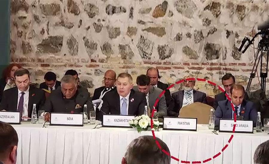 ہارٹ آف ایشیاء کانفرنس، شاہ محمود کا بھارتی وزیر کی تقریر پر احتجاج، بائیکاٹ