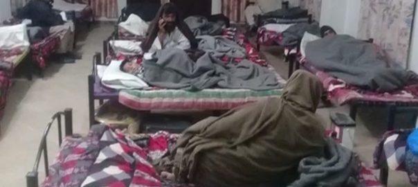 خیبرپختونخوا  بے گھر افراد  پشاور  92 نیوز شدید سردی