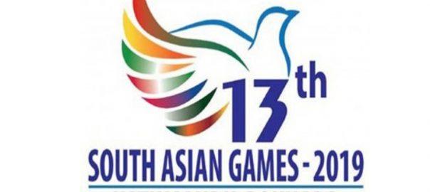 ساؤتھ ایشین گیمز پاکستان فائر پسٹل گولڈ میڈل کھٹمنڈو  92 نیوز نیپال  دارالحکومت کھٹمنڈو  شوٹنگ مقابلے