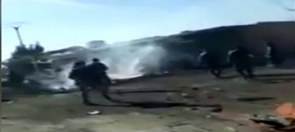 شام مبروکہ کار بم دھماکہ 5افراد ہلاک  دمشق  92 نیوز
