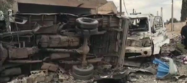 شام قصبہ سولوک 6افراد ہلاک  دمشق  92 نیوز