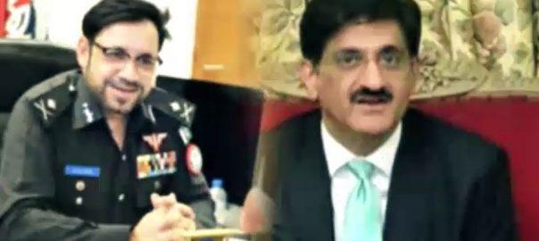 وفاق اور سندھ، کھنیچا تانی، پولیس افسران، تبادلوں، صوبہ بدری احکامات، کراچی، 92 نیوز
