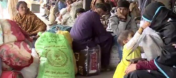 ٹرینوں کا شیڈول  دھند  کراچی  92نیوز کراچی 