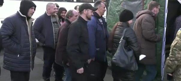 یوکرائن  روسی حمایت یافتہ  200 قیدیوں کا تبادلہ  ماسکو  92 نیوز