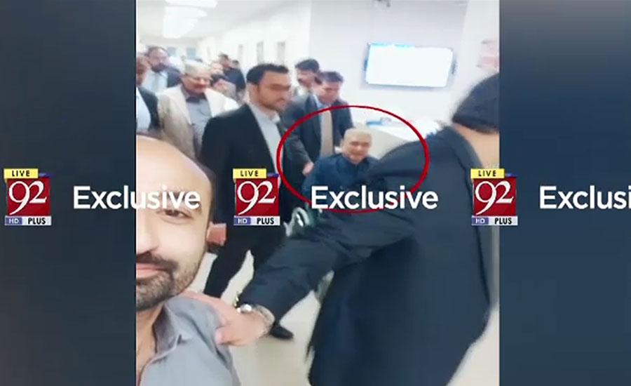 آصف زرداری نجی اسپتال میں زیر علاج ،وزراء نے عیادت کی