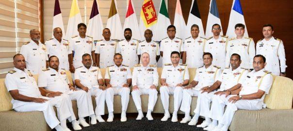 چیف آف دی نیول اسٹاف ، وزیر اعظم ، سری لنکا ، فوجی سربراہان ، ملاقاتیں