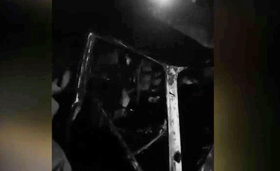 نارتھ کراچی، گاڑی میں آتشزدگی واقعہ میں 6 افراد جاں بحق