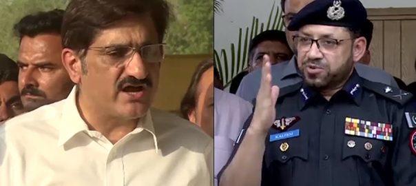آئی جی  حکومت سندھ  اختلافات  تقرر و تبادلے  کراچی  92 نیوز سندھ سرکار