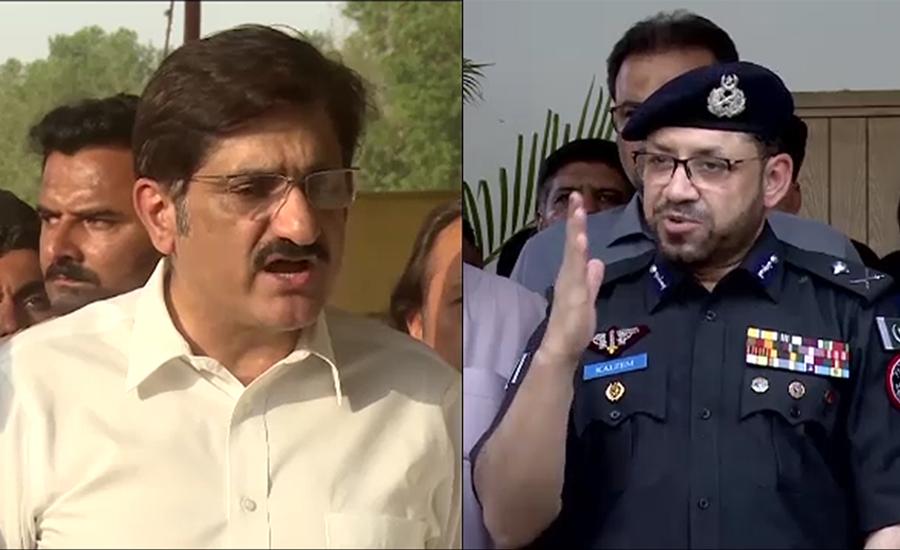آئی جی و حکومت سندھ میں اختلافات ، تقرر و تبادلے لٹک گئے