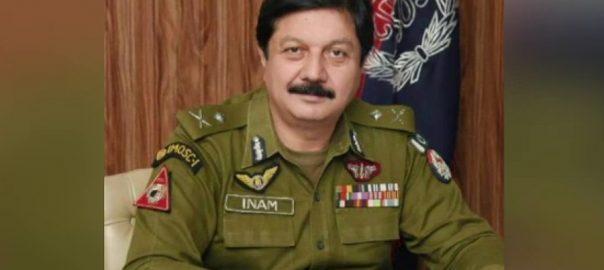 انعام غنی آئی جی سندھ کراچی  92 نیوز