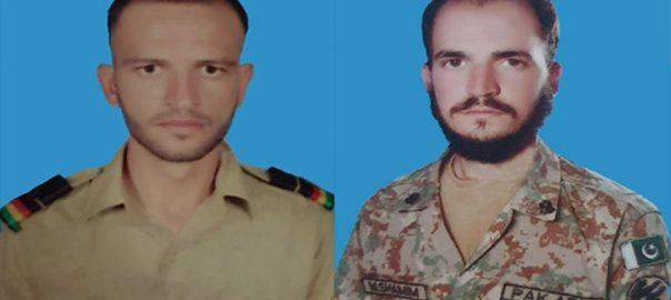 سکیورٹی فورسز شمالی وزیرستان 5دہشتگرد ہلاک 2 جوان شہید راولپنڈی  92 نیوز خفیہ اطلاع پر  دتہ خیل سپاہی محمد شمیم سپاہی اسد خان