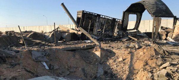 ایرانی راکٹ حملوں ، گیارہ ، امریکی فوجی ، زخمی ہلاک ، ترجمان ، امریکی سنٹرل کمانڈ