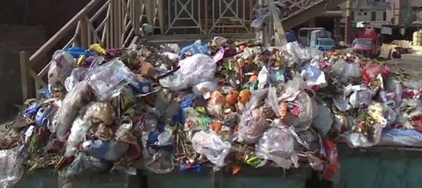 ایل ڈبلیو ایم سی ملازمین، کام بند، شہر، کوڑے کے ڈھیر، لاہور، 92 نیوز