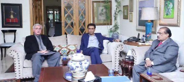 حکومتی وفد، خالد مقبول صدیقی، منالیا، استعفیٰ، منظور نہ کرنیکا فیصلہ، اسلام آباد، 92 نیوز