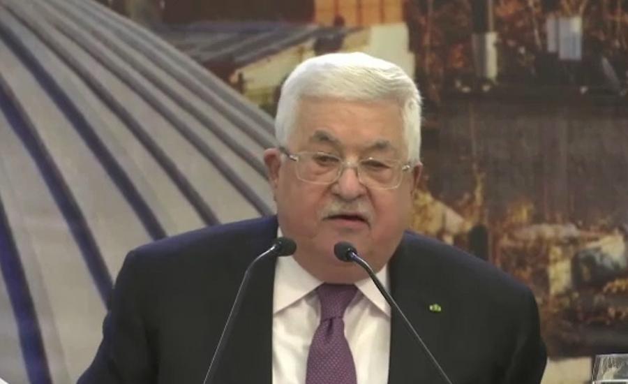 فلسطینی صدر محمود عباس نے ٹرمپ کے منصوبے کو سازشی منصوبہ قرار دیدیا