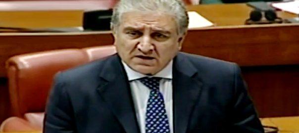 مشرق وسطیٰ  شاہ محمود قریشی  اسلام آباد  92 نیوز وزیر خارجہ  سینیٹ اجلاس عراقی بیس