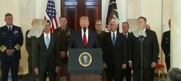 ایرانی سپریم لیڈر، امریکا، یورپ، سخت زبان، استعمال، ٹرمپ، واشنگٹن، 92 نیوز