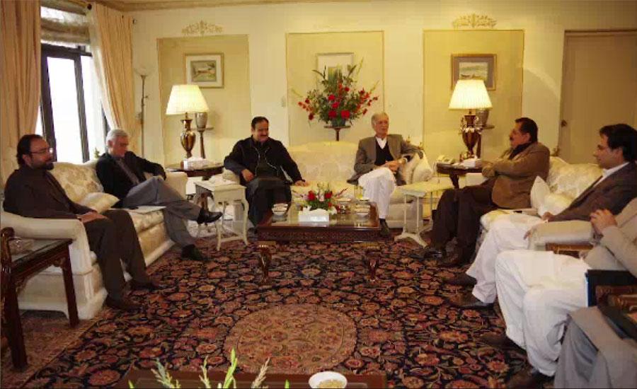 حکومتی کمیٹی کی ق لیگ کے وفد سے ملاقات ، مطالبات کے حل کیلئے تعاون کی یقین دہانی