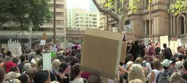 آسٹریلیا، جنگلات، آگ کیخلاف ریلیاں، سخت احتجاج، میلبورن، 92 نیوز