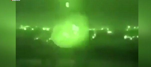 بغداد گرین زون راکٹوں کی برسات 6افراد زخمی 92 نیوز