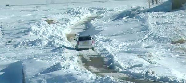 بلوچستان، برفباری، شدید بارشوں، تباہی، امدادی سرگرمیاں جاری، چمن، 92 نیوز