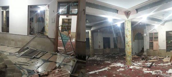 کوئٹہ، سیٹیلایٹ ٹاﺅن کی مسجد میں دھماکہ، ڈی ایس پی سمیت 10 افراد شہید، 20 زخمی