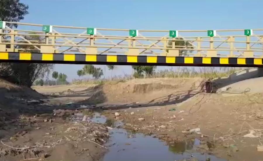 92 نیوز کی خبر پر ایکشن، پاک فوج نے گاؤں سونو خان سیال میں نہر پر پل تعمیر کر دیا