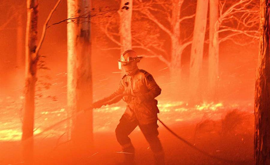جنگلات آتشزدگی، آسٹریلوی حکومت کا 3 ہزار سے زائد ریزرو فوجی اہلکار تعینات کرنیکا اعلان