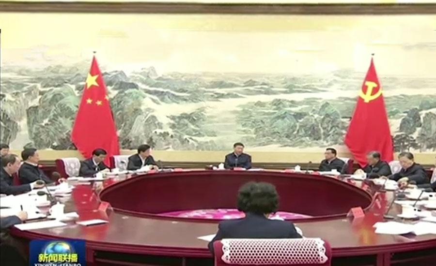 کرونا وائرس کے پھیلنے سے ملک مشکل میں گھرا ہے، چینی صدر
