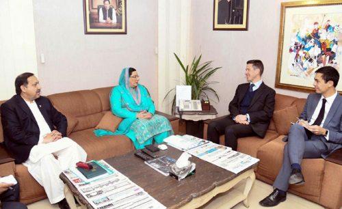 پاکستان، برطانیہ، ٹریول ایڈوائزری، مثبت تبدیلی، خیرمقدم، شاہ محمود، عائشہ فاروقی، فردوس عاشق، اسلام آباد، 92 نیوز