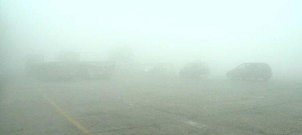 لاہور، پنجاب بھر، دھند کا راج، ٹریفک حادثے، بچہ جاں بحق، 17 زخمی، 92 نیوز