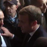 فرانسیسی صدر  اسرائیلی سکیورٹی اہلکار جھاڑ پلا دی  تل ابیب 92 نیوز 
